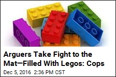 Cops: Argument Turns Into Lego-Filled Brawl