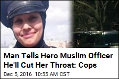 Man Arrested for Hate Crime Against Hero Muslim Officer