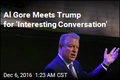 Al Gore Meets Trump for 'Interesting Conversation'