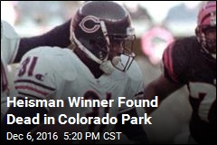 Heisman Winner Found Dead in Colorado Park