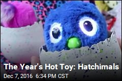Tickle Me Elmo Has Nothing on This Year's Hot Toy