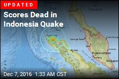 Dozens Dead in Indonesia Quake