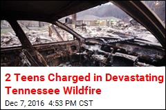 2 Teens Charged in Devastating Gatlinburg Wildfire