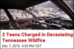 2 Teens Charged in Devastating Gatlinburg Wildfire