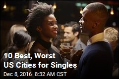 10 Best, Worst US Cities for Singles