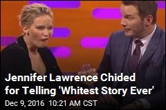 Jennifer Lawrence's 'Butt-Scratchin'' on Sacred Rocks Called 'Whitest Story Ever'