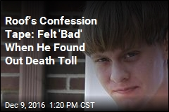 Dylann Roof Confession Tape: 'I Support Hitler'