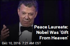 Peace Laureate: Nobel Was 'Gift From Heaven'