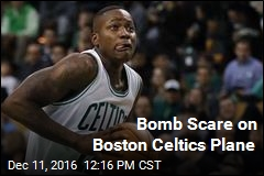 Bomb Scare on Boston Celtics Plane