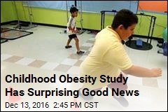 Childhood Obesity Study Has Surprising Good News