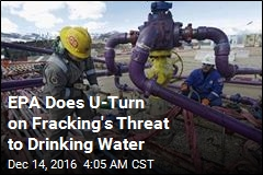 EPA Now Says Fracking Can Threaten Drinking Water