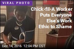 Why Chick-fil-A Worker Is Now America's Inspiration