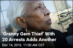 'Granny Gem Thief' With 20 Arrests Adds Another