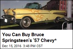 You Can Buy Bruce Springsteen's '57 Chevy*