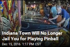 Indiana Town Will No Longer Jail You for Playing Pinball