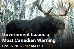 Government Issues a Most Canadian Warning