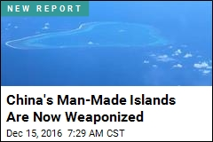 Looks Like China Has Armed Its S. China Sea Islands