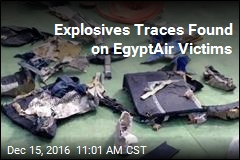 Explosives Traces Found on EgyptAir Victims