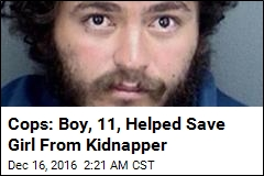 Cops: Boy, 11, Helped Save Girl From Kidnapper