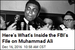 Here's What's Inside the FBI's File on Muhammad Ali