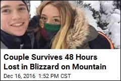 Couple Survives 48 Hours Lost in Blizzard on Mountain