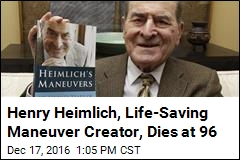 Henry Heimlich, Life-Saving Maneuver Creator, Dies at 96