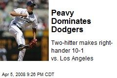 Peavy Dominates Dodgers