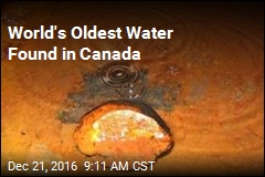 World's Oldest Water Found in Canada