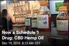 Now a Schedule 1 Drug: CBD Hemp Oil