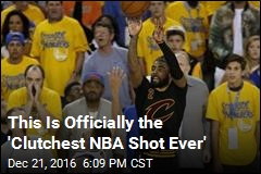 Math Says This Was the Biggest Shot in NBA History