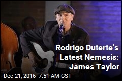 James Taylor Cancels Philippines Show in Protest