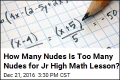 Teacher Reprimanded for Algebra Question About Nudes