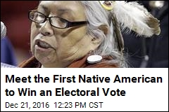 Meet the First Native American to Win an Electoral Vote