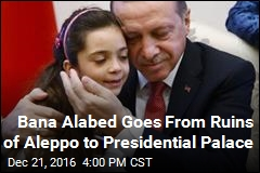 Aleppo's Bana Alabed Meets With Turkish President