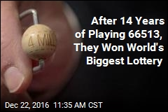 After 14 Years of Playing 66513, They Won World's Biggest Lottery