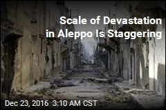 Scale of Devastation in Aleppo Is Staggering