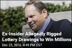 Former Lottery Insider Charged With Rigging Drawings