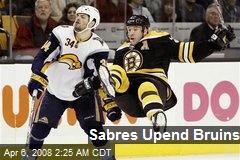 Sabres Upend Bruins