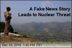 A Fake News Story Leads to Nuclear Threat