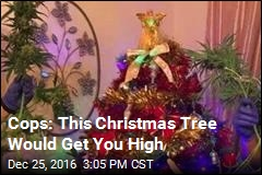 Cops: This Christmas Tree Would Get You High