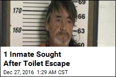 1 Inmate Sought After Toilet Escape