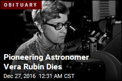Pioneering Astronomer Vera Rubin Dies