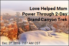 Love Helped Mom Power Through 2-Day Grand Canyon Trek