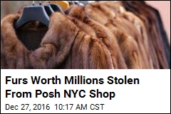 Thieves May Have Committed 'Largest Fur Heist' Ever in NYC