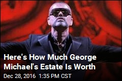 George Michael Worth $125M at Time of Death