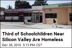 Third of Schoolchildren Near Silicon Valley Are Homeless