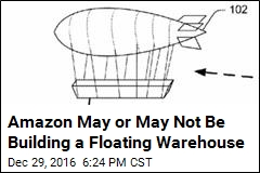 Amazon May or May Not Be Building a Floating Warehouse