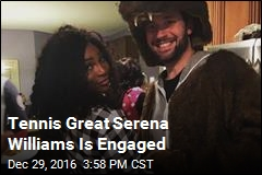 Serena Williams Engaged to Reddit Co-Founder