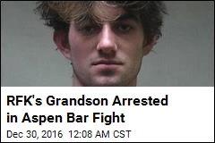 Kennedy Grandson Arrested in Aspen Bar Fight