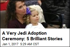 A Very Jedi Adoption Ceremony: 5 Brilliant Stories